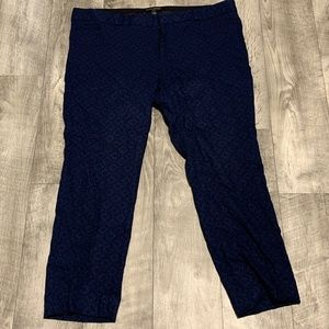 NAVY AND BLACK BANANA REPUBLIC DRESS PANTS